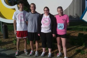 AC Lens Race For The Cure Participants