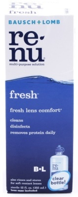 Renu MultiPlus Fresh Lens Contact Lenses Cleaner